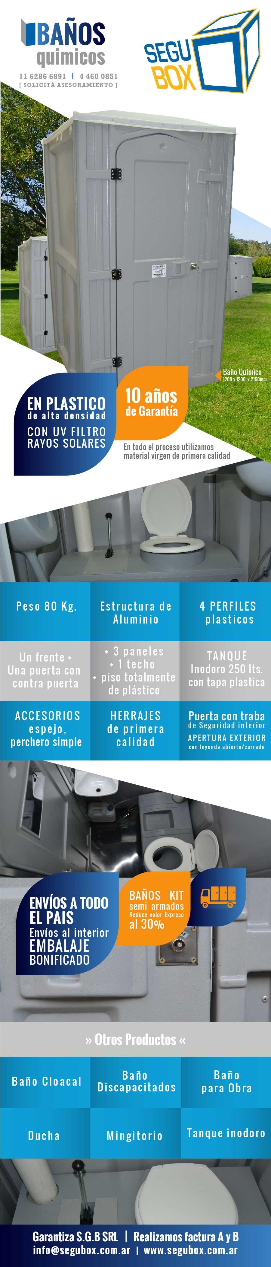 baños quimicos